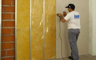 Инструкция по самостоятельной шумоизоляции стен из гипсокартона