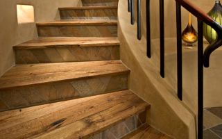 Все варианты отделки лестниц: дерево, бетон, металл