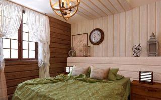 Как красиво и качественно отделать дом внутри имитацией бруса