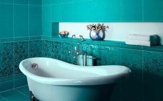 Варианты отделки туалета и ванной комнаты