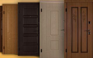 Виды и критерии выбора шумоизолирующих входных дверей