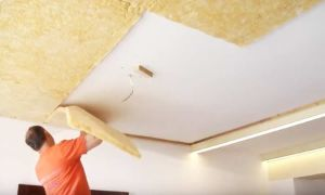 Как сделать звукоизоляцию потолка в квартире под натяжной потолок