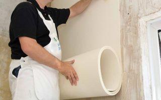 Как выполняется шумоизоляция стен под обои