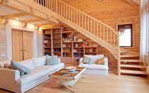Блок хаус для отделки дома внутри — инструкция монтажа