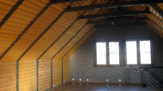 Блок-хауч для стен частного дома