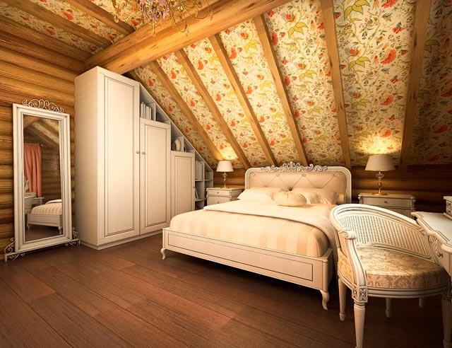 Декор потолка в частном доме