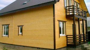 Блок-хаус для отделки