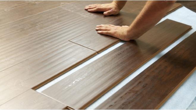 Процесс монтажа покрытия