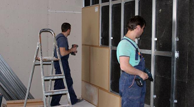Выполнение ремонтных работ