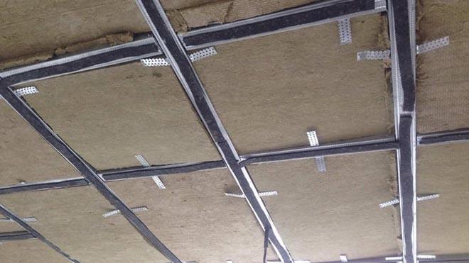 Недостроенный потолок