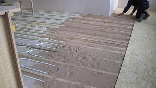 Конструкция из сухих строительных материалов