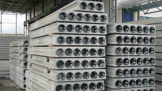 Железобетонные многопустотные плиты